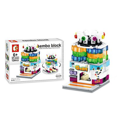 Sembo Street View Game Room Building Blocks Bricks ToyBlock Toys<br>Sembo Street View Game Room Building Blocks Bricks Toy<br><br>Brand: Sembo<br>Gender: Unisex<br>Materials: ABS<br>Package Contents: 1 x Sembo Building Blocks Toy<br>Package size: 23.50 x 15.50 x 4.30 cm / 9.25 x 6.1 x 1.69 inches<br>Package weight: 0.2080 kg<br>Product weight: 0.1150 kg<br>Suitable Age: Kid<br>Theme: Buildings<br>Type: Building
