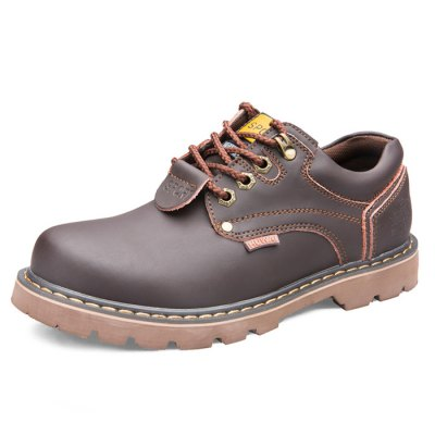 Men Fashionable Shoes / Short BootsMens Boots<br>Men Fashionable Shoes / Short Boots<br><br>Contents: 1 x Pair of Shoes<br>Materials: Leather, TPR<br>Occasion: Casual, Daily<br>Package Size ( L x W x H ): 33.00 x 22.00 x 11.00 cm / 12.99 x 8.66 x 4.33 inches<br>Package Weights: 0.97kg<br>Seasons: Autumn,Spring,Summer,Winter<br>Style: Leisure, Fashion, Comfortable<br>Type: Boots