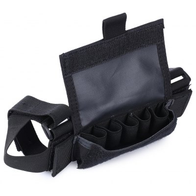Wear-resistant Nylon Buttstock Cover with Detachable Pouch