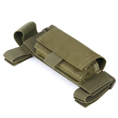 Wear-resistant Nylon Buttstock Cover with Detachable PouchGun Holsters<br>Wear-resistant Nylon Buttstock Cover with Detachable Pouch<br><br>Package Contents: 1 x Buttstock Cover<br>Package size (L x W x H): 19.00 x 7.00 x 4.00 cm / 7.48 x 2.76 x 1.57 inches<br>Package weight: 0.1100 kg<br>Product size (L x W x H): 18.00 x 6.50 x 8.00 cm / 7.09 x 2.56 x 3.15 inches<br>Product weight: 0.0760 kg