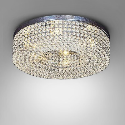 Stylish LED Crystal E14 Base Ceiling Light 110VFlush Ceiling Lights<br>Stylish LED Crystal E14 Base Ceiling Light 110V<br><br>Features: Round Shape<br>Illumination Field: 50sqm<br>LED Number : 6<br>Package Contents: 1 x Ceiling Light<br>Package size (L x W x H): 55.00 x 55.00 x 23.00 cm / 21.65 x 21.65 x 9.06 inches<br>Package weight: 6.5500 kg<br>Product size (L x W x H): 50.00 x 50.00 x 15.00 cm / 19.69 x 19.69 x 5.91 inches<br>Product weight: 5.8000 kg<br>Sheathing Material: Stainless Steel, Crystal<br>Type: Ceiling Lights<br>Voltage (V): 110V<br>Wattage (W): &gt;20