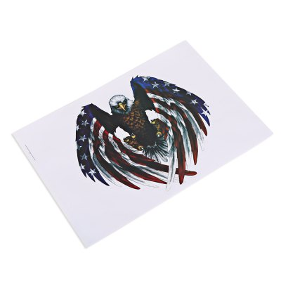 Eagle Automobile Car StickerCar Stickers<br>Eagle Automobile Car Sticker<br><br>Material: PVC<br>Package Contents: 1 x Car Sticker<br>Package size (L x W x H): 27.00 x 19.00 x 0.20 cm / 10.63 x 7.48 x 0.08 inches<br>Package weight: 0.0450 kg<br>Product size (L x W x H): 26.00 x 18.00 x 0.10 cm / 10.24 x 7.09 x 0.04 inches<br>Product weight: 0.0150 kg<br>Type: Car Stickers