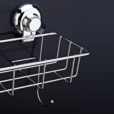 CW810 Stainless Steel Strong Suction Cup BasketStorage Baskets<br>CW810 Stainless Steel Strong Suction Cup Basket<br><br> Product weight: 0.3380 kg<br>Available Color: Silver<br>Functions: Home<br>Materials: Stainless Steel<br>Package Contents: 1 x Storage Basket<br>Package Size(L x W x H): 17.50 x 13.50 x 24.50 cm / 6.89 x 5.31 x 9.65 inches<br>Package weight: 0.4850 kg<br>Product Size(L x W x H): 23.50 x 12.20 x 15.00 cm / 9.25 x 4.8 x 5.91 inches<br>Types: Storage Baskets