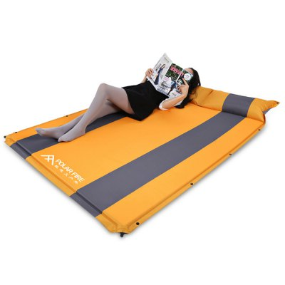 Polar Fire 2-person Auto-inflating Camping Cushion PadHammock and Sleeping Bags<br>Polar Fire 2-person Auto-inflating Camping Cushion Pad<br><br>Best Use: Camping,Noon break,Travel<br>Brand: Polar Fire<br>Features: Comfortable, Durable, Easy to Carry, Inflatable, Ultralight, Water Resistant<br>Package Contents: 1 x Polar Fire Camping Mat, 1 x Storage Bag<br>Package Dimension: 66.50 x 16.50 x 16.50 cm / 26.18 x 6.5 x 6.5 inches<br>Package weight: 2.5200 kg<br>Product Dimension: 192.00 x 132.00 x 2.50 cm / 75.59 x 51.97 x 0.98 inches<br>Product weight: 2.3000 kg<br>Season: 4 Seasons<br>Suitable for: 1-2 Persons<br>Type: Pad