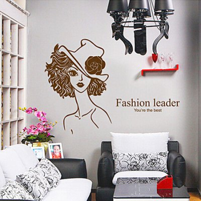 Beauty Removable Waterproof Wall StickerWall Stickers<br>Beauty Removable Waterproof Wall Sticker<br><br>Art Style: Plane Wall Stickers<br>Functions: Decorative Wall Stickers<br>Hang In/Stick On: Bathroom,Bedrooms,Living Rooms<br>Material: Vinyl(PVC), Self-adhesive Plastic<br>Package Contents: 1 x Sticker<br>Package size (L x W x H): 50.00 x 4.00 x 1.00 cm / 19.69 x 1.57 x 0.39 inches<br>Package weight: 0.1400 kg<br>Product size (L x W x H): 50.00 x 70.00 x 1.00 cm / 19.69 x 27.56 x 0.39 inches<br>Product weight: 0.1100 kg<br>Subjects: People