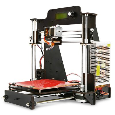 Geeetech pro W Prusa I3 DIY Cloud 3D Printer Kit3D Printers, 3D Printer Kits<br>Geeetech pro W Prusa I3 DIY Cloud 3D Printer Kit<br><br>Brand: Geeetech<br>File format: G-code, STL<br>Layer thickness: 0.1-0.3mm<br>Material diameter: 1.75mm<br>Memory card offline print: SD card<br>Model: pro W<br>Nozzle diameter: 0.3mm<br>Package size: 51.00 x 31.00 x 17.30 cm / 20.08 x 12.2 x 6.81 inches<br>Package weight: 8.1000 kg<br>Packing Contents: 1 x Geeetech Prusa I3 Pro W 3D Printer DIY Kit<br>Packing Type: unassembled packing<br>Product forming size: 200 x 200 x 180mm<br>Product size: 45.00 x 44.00 x 41.00 cm / 17.72 x 17.32 x 16.14 inches<br>Product weight: 7.5600 kg<br>Supporting material: PLA, Wood, ABS, Flexible PLA, Nylon<br>System support: Windows / Mac / Linux<br>Type: DIY