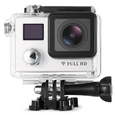 DV710S 1080P Action Camera WiFiAction Cameras<br>DV710S 1080P Action Camera WiFi<br><br>Aerial Photography: No<br>Anti-shake: No<br>Application: Underwater, Ski, Motorcycle, Extreme Sports, Bike<br>Auto Focusing: Yes<br>Battery Capacity (mAh): 1000mAh<br>Battery Type: Removable<br>Charge way: USB charge by PC<br>Charging Time: 2 hours<br>Chipset: Novatek 96658<br>Chipset Name: Novatek<br>Features: Wireless<br>Function: WiFi<br>Image Format : JPEG<br>Language: English,French,German,Italian,Japanese,Portuguese,Russian,Simplified Chinese,Spanish,Traditional Chinese<br>Lens Diameter: 17mm<br>Max External Card Supported: TF 32G (not included)<br>Model: DV710S<br>Night vision : No<br>Package Contents: 1 x Action Camera, 1 x Cable, 1 x Len Cleaning Cloth, 2 x Adhesive Pad, 1 x Waterproof Case, 2 x Wrist Band, 1 x Backpack Clip Mount, 1 x Vertical Surface J-Hook Buckle, 1 x Motorbike Roll Bar Mount,<br>Package size (L x W x H): 23.80 x 13.10 x 7.70 cm / 9.37 x 5.16 x 3.03 inches<br>Package weight: 0.6690 kg<br>Product size (L x W x H): 5.70 x 4.00 x 2.10 cm / 2.24 x 1.57 x 0.83 inches<br>Product weight: 0.0650 kg<br>Screen: Dual Screen<br>Screen resolution: 320x240<br>Screen size: 2.0inch<br>Screen type: LCD<br>Standby time: 90min<br>Type: Sports Camera<br>Type of Camera: 1080P<br>Video format: MOV<br>Video Frame Rate: 30FPS,60FPS<br>Video Resolution: 1080P (1920 x 1080),1080P(30fps),720P (1280 x 720),720P (60fps)<br>Water Resistant: 30m ( with waterproof case )<br>Waterproof: Yes<br>Waterproof Rating : IP68 ( with waterproof case )<br>Wide Angle: 150 degree wide angle<br>WIFI: Yes<br>WiFi Distance : 10m<br>Working Time: 60min