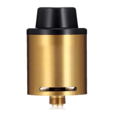 ASVAPE AIM - 9 RDARebuildable Atomizers<br>ASVAPE AIM - 9 RDA<br><br>Brand: ASVAPE<br>Material: Stainless Steel<br>Model: AIM - 9<br>Package Contents: 1 x Atomizer, 1 x Cotton Pack, 1 x Accessory Pack<br>Package size (L x W x H): 6.00 x 9.00 x 3.50 cm / 2.36 x 3.54 x 1.38 inches<br>Package weight: 0.1300 kg<br>Product size (L x W x H): 2.40 x 2.40 x 3.80 cm / 0.94 x 0.94 x 1.5 inches<br>Product weight: 0.0350 kg<br>Thread: 510<br>Type: Rebuildable Drippers, Rebuildable Atomizer