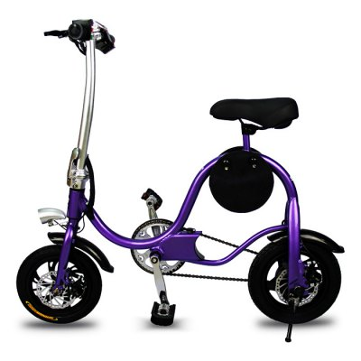 YT S1 12 inch Tire Smart Moped Folding Electric Bike BicycleElectric Bikes<br>YT S1 12 inch Tire Smart Moped Folding Electric Bike Bicycle<br><br>Brand: YT<br>Frame material: Aluminum Alloy<br>Package Content: 1 x YITONG S1 Folding Electric Bike, 1 x Adapter, 1 x US Plug, 1 x Installation Tool Set<br>Package size: 109.00 x 25.00 x 76.00 cm / 42.91 x 9.84 x 29.92 inches<br>Package weight: 17.1500 kg<br>Product size: 108.00 x 24.00 x 99.00 cm / 42.52 x 9.45 x 38.98 inches<br>Product weight: 13.0000 kg<br>Type: Electric Bicycle