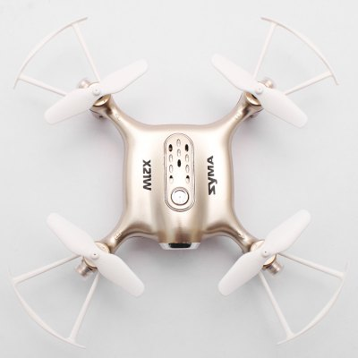 SYMA X21W Micro RC Selfie Pocket Drone - RTFRC Quadcopters<br>SYMA X21W Micro RC Selfie Pocket Drone - RTF<br><br>Age: Above 14 years old<br>Battery: 3.7V 380mAh lithium-ion<br>Brand: Syma<br>Built-in Gyro: 6 Axis Gyro<br>Camera Pixels: 0.3MP<br>Channel: 4-Channels<br>Charging Time.: less than 90mins<br>Compatible with Additional Gimbal: No<br>Control Distance: 0-50m<br>Detailed Control Distance: 20~25m<br>Features: Brushed Version, Radio Control, Camera, WiFi FPV, WiFi APP Control<br>Flying Time: &gt;5mins<br>FPV Distance: ( fluent FPV ) within 25m<br>Functions: WiFi Connection, Up/down, Turn left/right, Sideward flight, One Key Taking Off, Forward/backward, 3D rollover, One Key Landing<br>Kit Types: RTF<br>Level: Beginner Level<br>Model: X21W<br>Model Power: Built-in rechargeable battery<br>Motor Type: Brushed Motor<br>Package Contents: 1 x Drone ( Battery Included ), 1 x Transmitter, 1 x Mobile Phone Holder, 1 x USB Cable, 1 x Screwdriver, 1 x Card Reader, 4 x Spare Propeller, 1 x English Manual<br>Package size (L x W x H): 20.00 x 18.50 x 15.50 cm / 7.87 x 7.28 x 6.1 inches<br>Package weight: 0.6300 kg<br>Product size (L x W x H): 13.60 x 13.60 x 3.10 cm / 5.35 x 5.35 x 1.22 inches<br>Product weight: 0.0480 kg<br>Radio Mode: Mode 2 (Left-hand Throttle),WiFi APP<br>Remote Control: 2.4GHz Wireless Remote Control<br>Size: Micro<br>Transmitter Power: 4 x 1.5V AA battery(not included)<br>Type: Indoor, Quadcopter
