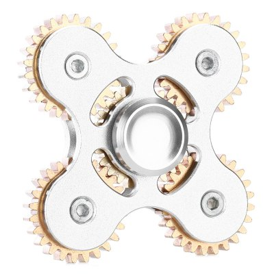 Four-leaf Five-gear Linkage Zinc Alloy Fidget SpinnerFidget Spinners<br>Four-leaf Five-gear Linkage Zinc Alloy Fidget Spinner<br><br>Center Bearing Material: Stainless Steel<br>Color: Silver<br>Frame material: Zinc Alloy<br>Package Contents: 1 x Fidget Spinner, 1 x Box<br>Package size (L x W x H): 9.00 x 9.00 x 2.00 cm / 3.54 x 3.54 x 0.79 inches<br>Package weight: 0.1470 kg<br>Product size (L x W x H): 7.30 x 7.30 x 1.80 cm / 2.87 x 2.87 x 0.71 inches<br>Product weight: 0.0950 kg<br>Type: Linkage