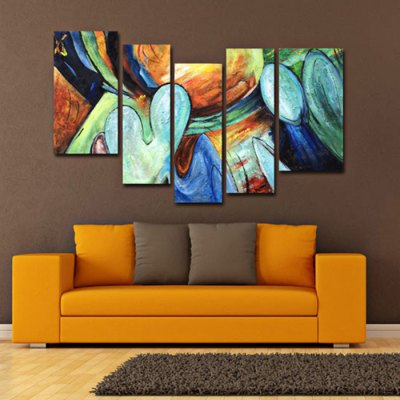 5PCS YHHP Elegant Vertical Abstract Oil PaintingOil Paintings<br>5PCS YHHP Elegant Vertical Abstract Oil Painting<br><br>Brand: YHHP<br>Form: Five Panels<br>Package Quantity: 5 x Oil Painting<br>Package size (L x W x H): 77.00 x 32.00 x 25.00 cm / 30.31 x 12.6 x 9.84 inches<br>Package weight: 3.0200 kg<br>Product size (L x W x H): 75.00 x 30.00 x 20.00 cm / 29.53 x 11.81 x 7.87 inches<br>Product weight: 2.5000 kg<br>Shape: Vertical<br>Theme: Abstract
