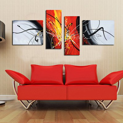 4PCS YHHP Exquisite Abstract Oil PaintingOil Paintings<br>4PCS YHHP Exquisite Abstract Oil Painting<br><br>Brand: YHHP<br>Form: Four Panels<br>Package Quantity: 4 x Oil Painting<br>Package size (L x W x H): 82.00 x 62.00 x 15.00 cm / 32.28 x 24.41 x 5.91 inches<br>Package weight: 3.5200 kg<br>Product size (L x W x H): 80.00 x 60.00 x 12.00 cm / 31.5 x 23.62 x 4.72 inches<br>Product weight: 2.8000 kg<br>Shape: Horizontal,Vertical<br>Theme: Abstract