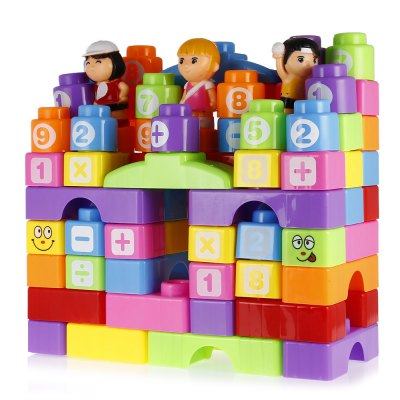 78pcs Big Plastic Building Block with Four FigurinesBlock Toys<br>78pcs Big Plastic Building Block with Four Figurines<br><br>Gender: Unisex<br>Materials: Plastic<br>Package Contents: 1 x Building Block Set ( with 4 Figurines )<br>Package size: 30.00 x 13.00 x 28.00 cm / 11.81 x 5.12 x 11.02 inches<br>Package weight: 0.8640 kg<br>Product size: 28.50 x 12.50 x 27.50 cm / 11.22 x 4.92 x 10.83 inches<br>Product weight: 0.6960 kg<br>Suitable Age: Kid<br>Theme: Other<br>Type: Kids Building