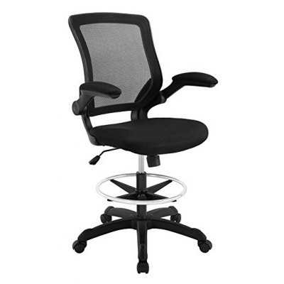 Flip-up Arm Drafting Table Chair for Adjustable Standing Desk