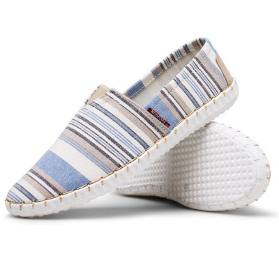 Men Stylish Canvas Flat ShoesCasual Shoes<br>Men Stylish Canvas Flat Shoes<br><br>Contents: 1 x Pair of Shoes<br>Materials: Canvas, Rubber<br>Occasion: Casual, Daily<br>Package Size ( L x W x H ): 31.00 x 21.00 x 11.00 cm / 12.2 x 8.27 x 4.33 inches<br>Package Weights: 0.59kg<br>Seasons: Autumn,Spring,Summer<br>Style: Leisure, Fashion, Comfortable<br>Type: Flat Shoes