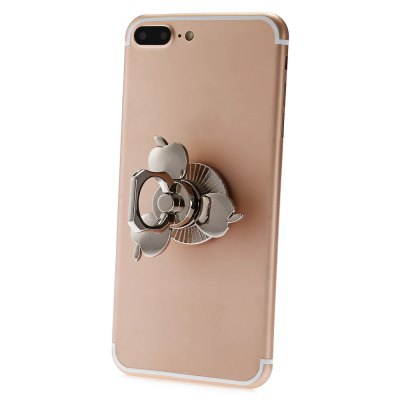 Apple Shape Tri-blade Fidget Spinner / Mobile Phone HolderFidget Spinners<br>Apple Shape Tri-blade Fidget Spinner / Mobile Phone Holder<br><br>Color: Silver<br>Features: Mobile Phone Mount<br>Frame material: Zinc Alloy<br>Package Contents: 1 x Fidget Spinner<br>Package size (L x W x H): 8.00 x 10.20 x 2.50 cm / 3.15 x 4.02 x 0.98 inches<br>Package weight: 0.1120 kg<br>Product size (L x W x H): 5.30 x 5.30 x 2.20 cm / 2.09 x 2.09 x 0.87 inches<br>Product weight: 0.0560 kg<br>Swing Numbers: Tri-Bar<br>Type: Triple Blade, Multifunctional