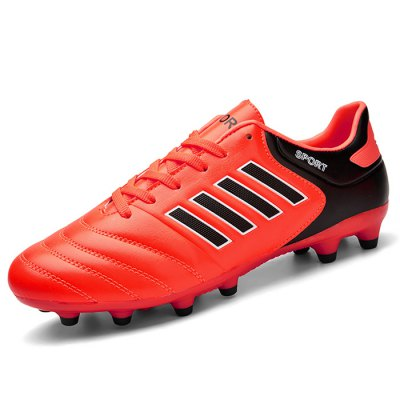 Flexible Athletic Lace Up Soccer Shoes for Men