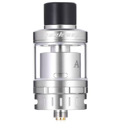The Geekvape AMMIT 25 AtomizerRebuildable Atomizers<br>The Geekvape AMMIT 25 Atomizer<br><br>Brand: Geekvape<br>Material: Stainless Steel, Glass<br>Model: AMMIT 25<br>Package Contents: 1 x RTA<br>Package size (L x W x H): 9.00 x 6.00 x 5.00 cm / 3.54 x 2.36 x 1.97 inches<br>Package weight: 0.2100 kg<br>Product size (L x W x H): 4.80 x 2.50 x 2.50 cm / 1.89 x 0.98 x 0.98 inches<br>Product weight: 0.0600 kg<br>Tank Capacity: 2.0ml,5.0ml<br>Thread: 510<br>Type: Tank Atomizer, Clearomizer