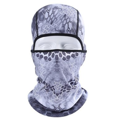 Cool Pattern Motorcycling Neck Protective Full Cover Face Mask