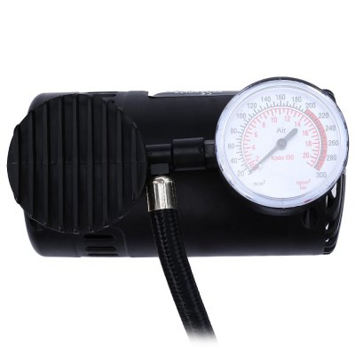 Portable 12V 300PSI Air CompressorCar Inflatable Pump<br>Portable 12V 300PSI Air Compressor<br><br>Package Contents: 1 x Electric Auto Car Inflatable Pump, 1 x Sports Needle, 2 x Nozzle Adapter<br>Package size (L x W x H): 16.50 x 13.00 x 9.00 cm / 6.5 x 5.12 x 3.54 inches<br>Package weight: 0.4800 kg<br>Product size (L x W x H): 13.50 x 12.00 x 7.00 cm / 5.31 x 4.72 x 2.76 inches<br>Product weight: 0.4500 kg