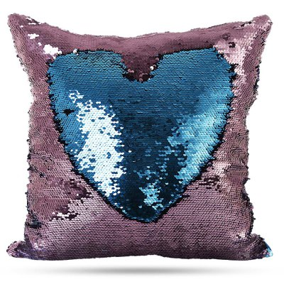 Reversible Sequins DIY Pillow Cases Decorative PillowcasePillow<br>Reversible Sequins DIY Pillow Cases Decorative Pillowcase<br><br>Category: Pillow Case<br>For: All<br>Material: Polyester fibre<br>Occasion: Office, Living Room, KTV, Bedroom, Bar<br>Package Contents: 1 x Pillowcase<br>Package size (L x W x H): 42.00 x 42.00 x 4.00 cm / 16.54 x 16.54 x 1.57 inches<br>Package weight: 0.0150 kg<br>Product size (L x W x H): 40.00 x 40.00 x 2.00 cm / 15.75 x 15.75 x 0.79 inches<br>Product weight: 0.0110 kg