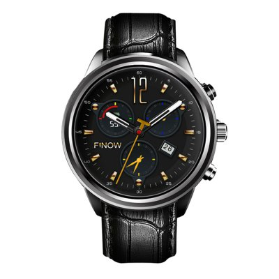 FINOW X5 AIR 3G Smartwatch PhoneSmart Watch Phone<br>FINOW X5 AIR 3G Smartwatch Phone<br><br>Additional Features: Alarm, 3G, People, Notification, MP4, MP3, Browser, Bluetooth, 2G<br>Battery: 450mAh Built-in<br>Bluetooth Version: V4.0<br>Brand: FINOW<br>Camera type: No camera<br>Cell Phone: 1<br>Charging Dock: 1<br>Compatible OS: Android, IOS<br>Cores: 1.3GHz, Quad Core<br>CPU: MTK6580<br>English Manual : 1<br>External Memory: Not Supported<br>Frequency: GSM 850/900/1800/1900MHz WCDMA 850/1900/2100MHz<br>GPS: Yes<br>Languages: Simplified / Traditional Chinese, English, French, German, Spanish, Portuguese, Italian, Dutch, Russian, Polish, Turkish, Korean, Hebrew, Malay, Indonesian, Vietnamese, Arabic, Persian, Thai, Hindi, B<br>Music format: MP3<br>Network type: GSM+WCDMA<br>OS: Android 5.1<br>Package size: 11.80 x 11.80 x 8.80 cm / 4.65 x 4.65 x 3.46 inches<br>Package weight: 0.2900 kg<br>Picture format: JPEG, PNG, BMP<br>Product size: 27.20 x 5.10 x 1.20 cm / 10.71 x 2.01 x 0.47 inches<br>Product weight: 0.0900 kg<br>RAM: 2GB<br>ROM: 16GB<br>Screen Protector: 1<br>Screen size: 1.39 inch<br>Screen type: AMOLED<br>Screwdriver: 1<br>SIM Card Slot: Single SIM<br>Type: Watch Phone<br>Video format: AVI, MP4, 3GP