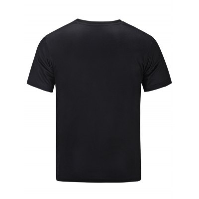 Chic Character Printed T-shirt for MenMens Short Sleeve Tees<br>Chic Character Printed T-shirt for Men<br><br>Fabric Type: Cotton<br>Neckline: Round Neck<br>Package Content: 1 x T-shirt<br>Package size: 30.00 x 35.00 x 0.50 cm / 11.81 x 13.78 x 0.2 inches<br>Package weight: 0.2500 kg<br>Product weight: 0.2100 kg<br>Season: Summer<br>Sleeve Length: Short Sleeves