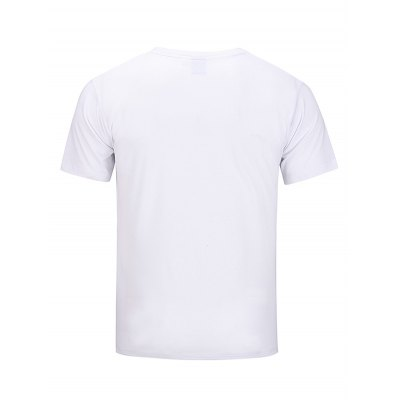 Street Popular T-shirt for MenMens Short Sleeve Tees<br>Street Popular T-shirt for Men<br><br>Fabric Type: Cotton<br>Neckline: Round Neck<br>Package Content: 1 x T-shirt<br>Package size: 30.00 x 35.00 x 2.00 cm / 11.81 x 13.78 x 0.79 inches<br>Package weight: 0.2500 kg<br>Product weight: 0.2100 kg<br>Season: Summer<br>Sleeve Length: Short Sleeves