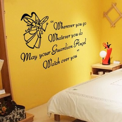 DIY English Quote Waterproof Wall StickerWall Stickers<br>DIY English Quote Waterproof Wall Sticker<br><br>Art Style: Plane Wall Stickers<br>Color Scheme: Multicolor<br>Functions: Decorative Wall Stickers<br>Hang In/Stick On: Bedrooms,Living Rooms<br>Material: Vinyl(PVC), Self-adhesive Plastic<br>Package Contents: 1 x Sticker<br>Package size (L x W x H): 60.00 x 4.00 x 2.00 cm / 23.62 x 1.57 x 0.79 inches<br>Package weight: 0.1800 kg<br>Product size (L x W x H): 60.00 x 90.00 x 2.00 cm / 23.62 x 35.43 x 0.79 inches<br>Product weight: 0.1600 kg