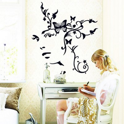 Butterfly Waterproof Wall StickerWall Stickers<br>Butterfly Waterproof Wall Sticker<br><br>Art Style: Plane Wall Stickers<br>Functions: Decorative Wall Stickers<br>Hang In/Stick On: Bedrooms,Living Rooms<br>Material: Self-adhesive Plastic, Vinyl(PVC)<br>Package Contents: 1 x Sticker<br>Package size (L x W x H): 60.00 x 4.00 x 1.00 cm / 23.62 x 1.57 x 0.39 inches<br>Package weight: 0.1800 kg<br>Product size (L x W x H): 60.00 x 90.00 x 1.00 cm / 23.62 x 35.43 x 0.39 inches<br>Product weight: 0.1600 kg