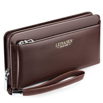 Luxury Genuine Leather Business Wallet for MenWallets<br>Luxury Genuine Leather Business Wallet for Men<br><br>Closure Type: Zip, Zip<br>Material: Genuine Leather, Genuine Leather<br>Package Size(L x W x H): 24.00 x 13.00 x 5.50 cm / 9.45 x 5.12 x 2.17 inches, 24.00 x 13.00 x 5.50 cm / 9.45 x 5.12 x 2.17 inches<br>Package weight: 0.3400 kg, 0.3400 kg<br>Packing List: 1 x Wallet, 1 x Wallet<br>Product Size(L x W x H): 22.00 x 11.00 x 3.50 cm / 8.66 x 4.33 x 1.38 inches, 22.00 x 11.00 x 3.50 cm / 8.66 x 4.33 x 1.38 inches<br>Product weight: 0.3000 kg, 0.3000 kg<br>Style: Business, Business<br>Type: Wallet, Wallet