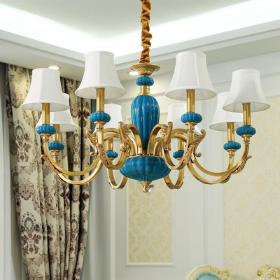 ZGPAX DJB1039 8 Branches E14 Base Pendant Light 220VPendant Light<br>ZGPAX DJB1039 8 Branches E14 Base Pendant Light 220V<br><br>Beam Angle: 360 Degree<br>Brand: ZGPAX<br>Bulb Base Type: E14<br>Bulb Included: Yes<br>Function: Home Lighting<br>Illumination Field: 20 - 25sqm<br>Output Power: 40W<br>Package Contents: 1 x ZGPAX DJB1039 E14 Base Pendant Light, 8 x E14 Bulb, 1 x English Manual<br>Package size (L x W x H): 74.00 x 69.00 x 36.00 cm / 29.13 x 27.17 x 14.17 inches<br>Package weight: 9.2500 kg<br>Product weight: 8.3000 kg<br>Quantity of Spots: 8<br>Sheathing Material: Cloth<br>Style: Trendy, Modern/Contemporary<br>Type: Pendants<br>Voltage (V): AC 220