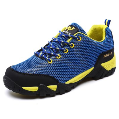 Durable Rubber Soles Hiking Shoes for MenHiking Shoes<br>Durable Rubber Soles Hiking Shoes for Men<br><br>Contents: 1 x Pair of Shoes<br>Materials: Mesh, PU, Rubber<br>Occasion: Casual<br>Package Size ( L x W x H ): 33.00 x 22.00 x 11.00 cm / 12.99 x 8.66 x 4.33 inches<br>Package Weights: 0.82kg<br>Seasons: Autumn,Spring,Summer<br>Style: Leisure, Comfortable<br>Type: Hiking Shoes