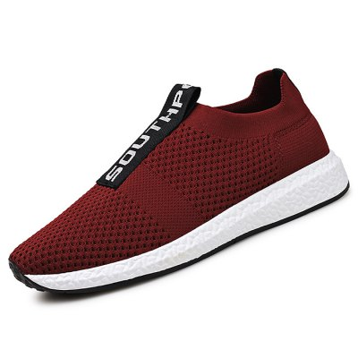 Men Light Weight Stylish Leisure ShoesCasual Shoes<br>Men Light Weight Stylish Leisure Shoes<br><br>Contents: 1 x Pair of Shoes<br>Materials: Rubber, Woven Fabric<br>Occasion: Casual, Daily<br>Package Size ( L x W x H ): 33.00 x 22.00 x 11.00 cm / 12.99 x 8.66 x 4.33 inches<br>Package Weights: 0.72KG<br>Seasons: Autumn,Spring,Summer<br>Style: Leisure, Fashion, Comfortable<br>Type: Casual Shoes