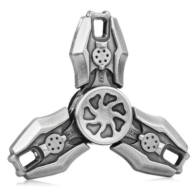 Three-blade Retro CFK Alloy ADHD Fidget SpinnerFidget Spinners<br>Three-blade Retro CFK Alloy ADHD Fidget Spinner<br><br>Center Bearing Material: Stainless Steel<br>Color: Gray<br>Frame material: Alloy<br>Package Contents: 1 x Fidget Spinner, 1 x Box<br>Package size (L x W x H): 9.00 x 9.00 x 2.00 cm / 3.54 x 3.54 x 0.79 inches<br>Package weight: 0.1100 kg<br>Product size (L x W x H): 6.50 x 6.50 x 1.40 cm / 2.56 x 2.56 x 0.55 inches<br>Product weight: 0.0500 kg<br>Swing Numbers: Tri-Bar<br>Type: Triple Blade, Retro