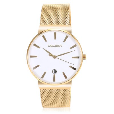 CAGARNY 6817 Analog Unisex WatchUnisex Watches<br>CAGARNY 6817 Analog Unisex Watch<br><br>Band material: Stainless Steel<br>Band size: 23.5 x 2cm<br>Case material: Alloy<br>Clasp type: Sheet folding clasp<br>Dial size: 4 x 4 x 0.95cm<br>Display type: Analog<br>Movement type: Quartz watch<br>Package Contents: 1 x Watch, 1 x Instructions, 1 x Box<br>Package size (L x W x H): 8.00 x 11.00 x 7.50 cm / 3.15 x 4.33 x 2.95 inches<br>Package weight: 0.1630 kg<br>People: Unisex table<br>Product size (L x W x H): 23.50 x 4.00 x 0.95 cm / 9.25 x 1.57 x 0.37 inches<br>Product weight: 0.0700 kg<br>Shape of the dial: Round<br>Watch style: Fashion<br>Water resistance : 30 meters<br>Wearable length: 21.5 - 23.5cm