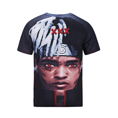 Men Portrait Printed Summer T-shirtMens Short Sleeve Tees<br>Men Portrait Printed Summer T-shirt<br><br>Fabric Type: Cotton<br>Neckline: Round Neck<br>Package Content: 1 x T-shirt<br>Package size: 30.00 x 35.00 x 2.00 cm / 11.81 x 13.78 x 0.79 inches<br>Package weight: 0.2500 kg<br>Product weight: 0.2100 kg<br>Season: Summer<br>Sleeve Length: Short Sleeves<br>Style: Fashion, Casual