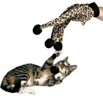 Leopard Print Glove Toy for CatsCat Toys<br>Leopard Print Glove Toy for Cats<br><br>For: Cats<br>Package Contents: 1 x Cat Toy<br>Package size (L x W x H): 17.00 x 5.00 x 35.00 cm / 6.69 x 1.97 x 13.78 inches<br>Package weight: 0.0950 kg<br>Product size (L x W x H): 15.00 x 3.00 x 33.00 cm / 5.91 x 1.18 x 12.99 inches<br>Product weight: 0.0750 kg<br>Type: Cat Toys