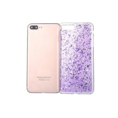 Gold Glitter Silicone Phone Cover for iPhone 7 Plus for iphone 7 plus glitter powder gradient tpu skin cover gold