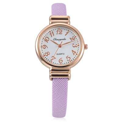 CYD Chaoyada 8011 Fashion Women Bangle WatchWomens Watches<br>CYD Chaoyada 8011 Fashion Women Bangle Watch<br><br>Band material: Leather and steel<br>Brand: Chaoyada<br>Case material: Steel<br>Dial size: 3.2 x 3.2 x 0.6cm<br>Display type: Analog<br>Movement type: Quartz watch<br>Package Contents: 1 x Watch, 1 x Box<br>Package size (L x W x H): 8.50 x 8.00 x 5.50 cm / 3.35 x 3.15 x 2.17 inches<br>Package weight: 0.0930 kg<br>Product size (L x W x H): 12.00 x 3.20 x 0.60 cm / 4.72 x 1.26 x 0.24 inches<br>Product weight: 0.0360 kg<br>Shape of the dial: Round<br>Watch style: Bracelet Style, Fashion<br>Watches categories: Women<br>Water resistance : Life water resistant