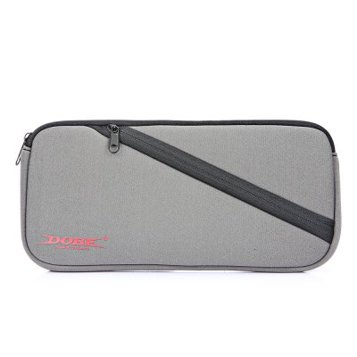 DOBE TNS - 859 Soft Storage BagGame Accessories<br>DOBE TNS - 859 Soft Storage Bag<br><br>Brands: DOBE<br>Compatible with: Nintendo Switch<br>Features: Case<br>Game Accessories Type: Storage and Cases<br>Model: TNS - 859<br>Package Contents: 1 x Soft Storage Bag<br>Package size: 30.50 x 14.00 x 3.50 cm / 12.01 x 5.51 x 1.38 inches<br>Package weight: 0.1500 kg<br>Product size: 26.50 x 13.00 x 2.50 cm / 10.43 x 5.12 x 0.98 inches<br>Product weight: 0.0710 kg