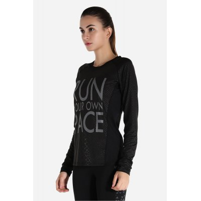 Sports Long Sleeves Quick Dry Yoga Training T-shirt for WomenYoga<br>Sports Long Sleeves Quick Dry Yoga Training T-shirt for Women<br><br>Features: Anti Sweat, Quick Dry<br>Gender: Female<br>Material: Polyester, Spandex<br>Package Content: 1 x Long Sleeves T-shirt<br>Package size: 30.00 x 35.00 x 0.50 cm / 11.81 x 13.78 x 0.2 inches<br>Package weight: 0.2800 kg<br>Product weight: 0.1600 kg