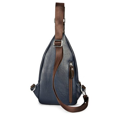 PU Leather Vertical Design Chest Bag for MenMens Bags<br>PU Leather Vertical Design Chest Bag for Men<br><br>Closure Type: Zip<br>Material: PU<br>Package Size(L x W x H): 20.00 x 35.00 x 6.00 cm / 7.87 x 13.78 x 2.36 inches<br>Package weight: 0.5600 kg<br>Packing List: 1 x Chest Bag<br>Product Size(L x W x H): 18.00 x 33.00 x 4.00 cm / 7.09 x 12.99 x 1.57 inches<br>Product weight: 0.5000 kg<br>Style: Fashion<br>Type: Shoulder bag