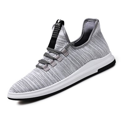 Mesh Fabric Breathable Sports Shoes for MenCasual Shoes<br>Mesh Fabric Breathable Sports Shoes for Men<br><br>Contents: 1 x Pair of Shoes<br>Materials: Fabric, Rubber<br>Occasion: Casual, Daily<br>Package Size ( L x W x H ): 33.00 x 22.00 x 11.00 cm / 12.99 x 8.66 x 4.33 inches<br>Package Weights: 0.72kg<br>Seasons: Autumn,Spring,Summer<br>Style: Leisure, Fashion, Comfortable<br>Type: Casual Shoes