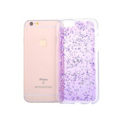 Gold Glitter Silicone Phone Cover for iPhone 6 Plus / 6s Plus for iphone 7 plus glitter powder gradient tpu skin cover gold