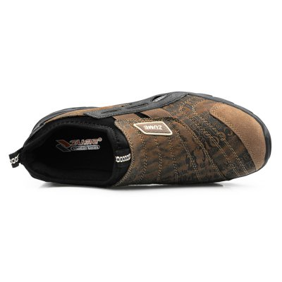 Slip-on Outdoor Casual Shoes for MenCasual Shoes<br>Slip-on Outdoor Casual Shoes for Men<br><br>Contents: 1 x Pair of Shoes<br>Materials: Rubber, Suede<br>Occasion: Casual<br>Package Size ( L x W x H ): 33.00 x 22.00 x 11.00 cm / 12.99 x 8.66 x 4.33 inches<br>Package Weights: 0.82kg<br>Seasons: Autumn,Winter<br>Style: Leisure, Fashion, Comfortable<br>Type: Casual Shoes