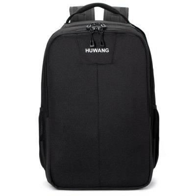Huwang Waterproof Camera Backpack Outdoor TravelCamera Bags<br>Huwang Waterproof Camera Backpack Outdoor Travel<br><br>Brand: Huwang<br>Material: Nylon<br>Package Contents: 1 x Bag<br>Package size (L x W x H): 28.00 x 19.00 x 43.00 cm / 11.02 x 7.48 x 16.93 inches<br>Package weight: 1.3700 kg<br>Product size (L x W x H): 27.00 x 18.00 x 42.00 cm / 10.63 x 7.09 x 16.54 inches<br>Product weight: 1.3000 kg<br>Type: Double shoulder