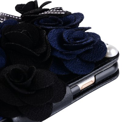 3D Black Rose Leather Wallet Phone Case for iPhone 7 bosch 0601063208 gll 2 80 p bm1 в l boxx