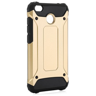 Luanke Armor Case CoverCases &amp; Leather<br>Luanke Armor Case Cover<br><br>Brand: Luanke<br>Compatible Model: Redmi 4X<br>Features: Anti-knock, Back Cover<br>Mainly Compatible with: Xiaomi<br>Material: PC, TPU<br>Package Contents: 1 x Phone Case<br>Package size (L x W x H): 21.00 x 13.00 x 2.00 cm / 8.27 x 5.12 x 0.79 inches<br>Package weight: 0.0650 kg<br>Product Size(L x W x H): 14.60 x 7.70 x 1.00 cm / 5.75 x 3.03 x 0.39 inches<br>Product weight: 0.0420 kg<br>Style: Modern, Pattern, Cool